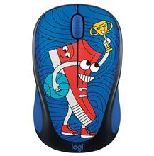 Logitech Doodle Collection M238 Sneakerhead Wireless Mouse